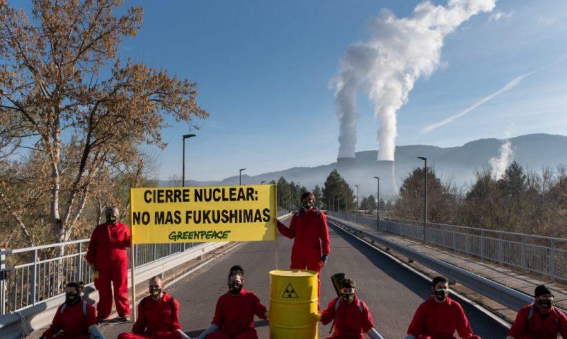 Reactivo: Greenpeace muestra su preocupación ante el anuncio del Gobierno de renovar la licencia de la central nuclear de Cofrentes hasta su cierre en 2030 – ES