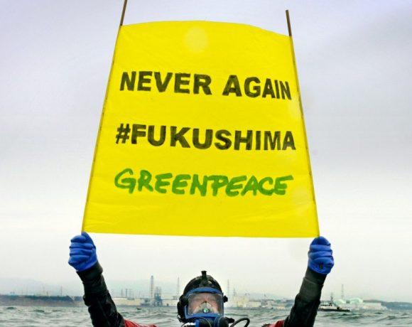 Greenpeace condena la decisión del Gobierno japonés de verter el agua contaminada de Fukushima al océano Pacífico – ES