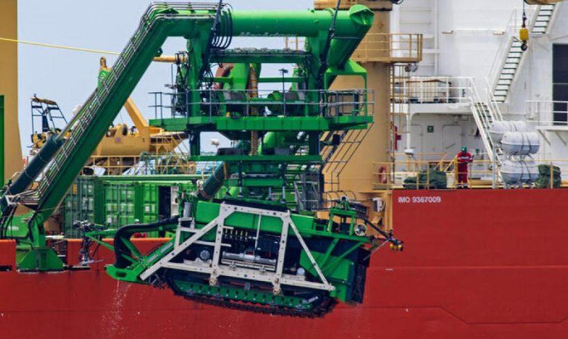 Un robot submarino de minería de 25 toneladas se hunde en el fondo del océano Pacífico – ES
