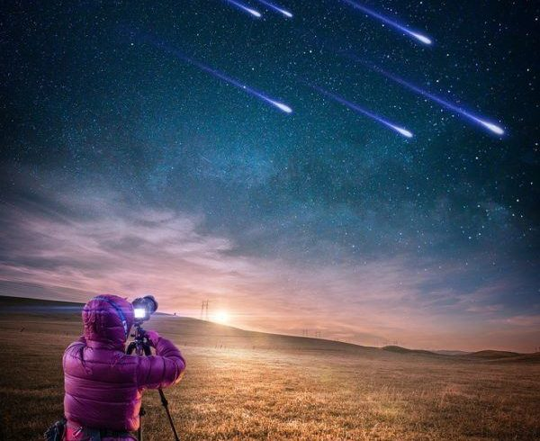 Calendario de lluvias de Estrellas 2021