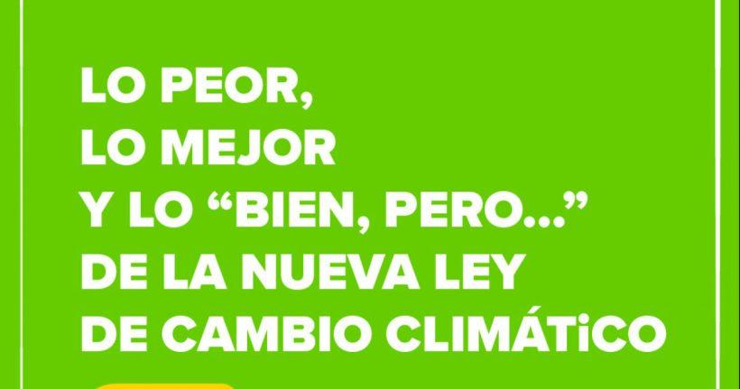 10 puntos clave de la Ley de Cambio Climático y Transición Energética que por fin se aprueba hoy – ES
