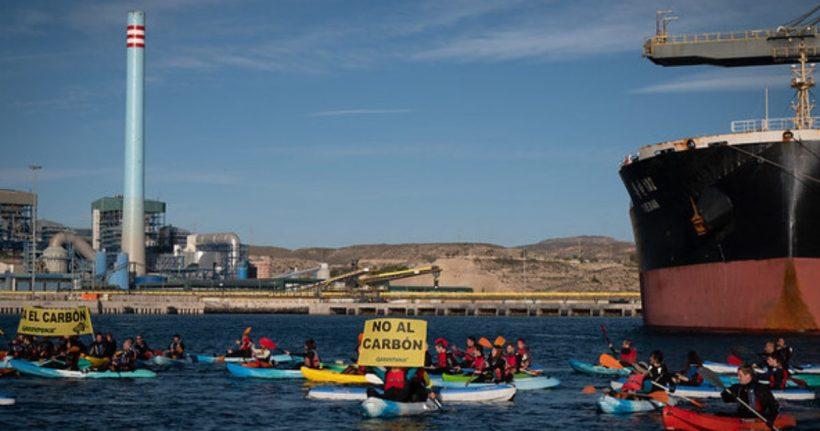 Greenpeace y Ecologistas en Acción rechazan cualquier pretensión de retrasar el cierre de la térmica de Carboneras (Almería) – ES