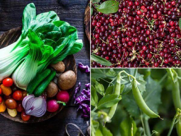 Qué frutas y verduras comer en junio – Calendario de temporada
