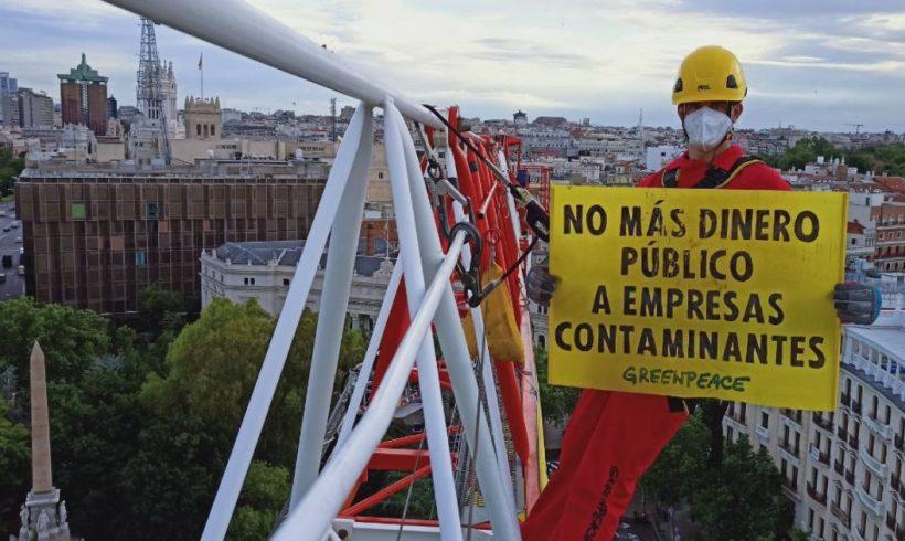 Greenpeace advierte de que el plan España Puede del Gobierno no garantiza una recuperación verde y justa – ES