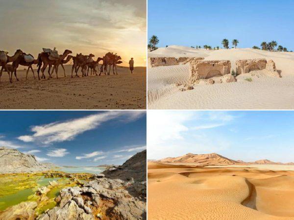 Los lugares mas calientes del planeta