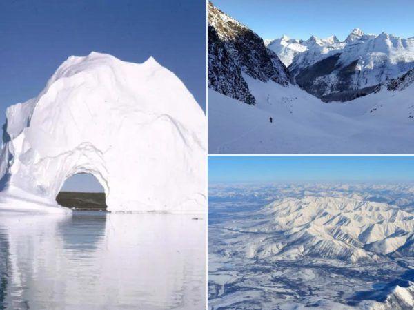 Los lugares mas fríos del planeta