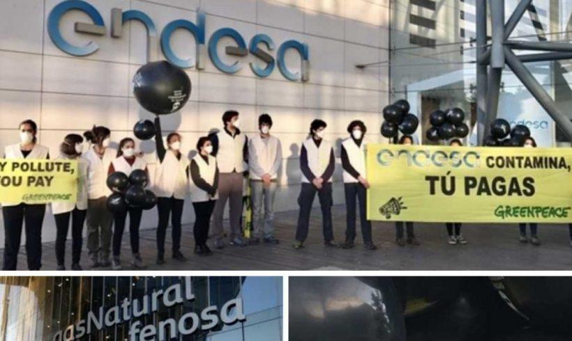 Greenpeace inicia la denuncia para exigir a las eléctricas la devolución de 1.500 a 2.800 M€ a los consumidores – ES