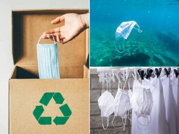 Las mejores formas para reciclar todos los tipos de mascarillas