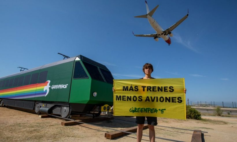 Greenpeace denuncia la incoherencia climática del Gobierno Central y la Generalitat tras el acuerdo para la ampliación de El Prat – ES