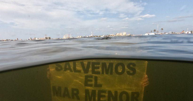 Firma para detener el ecocidio del Mar Menor