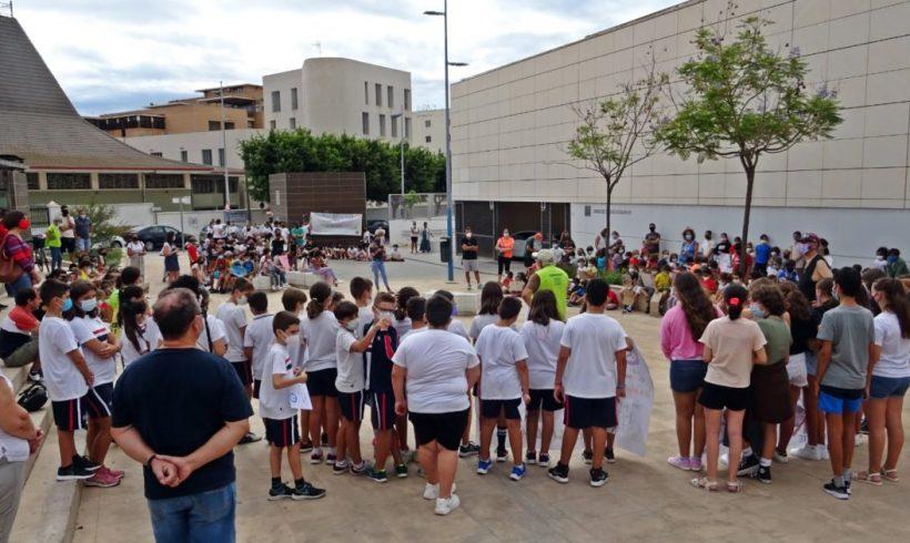 Estudiantes del barrio almeriense de Nueva Andalucía quieren llegar a clase de forma sostenible – ES