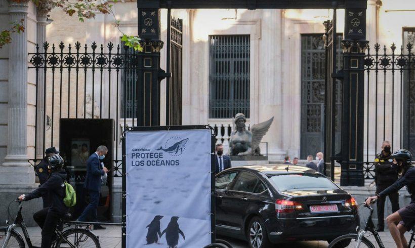 Greenpeace reclama a los líderes mundiales reunidos en Madrid acciones valientes para la protección de los océanos – ES