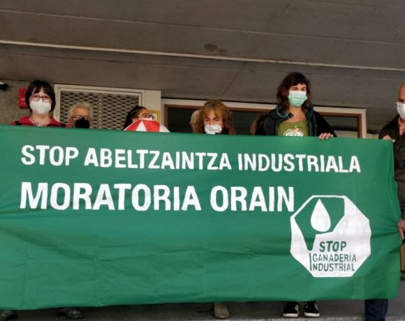 Colectivos solicitan al Gobierno de Navarra una moratoria a la ganadería industrial en toda la comunidad – ES